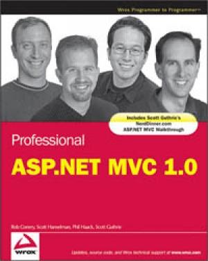 Download Professional ASP.NET MVC 1.0 free book as pdf format