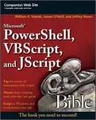Book Microsoft PowerShell, VBScript and JScript Bible free