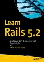 Book Learn Rails 5.2: Accelerated Web Development with Ruby on Rails free