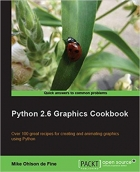 Book Python 2.6 Graphics Cookbook free