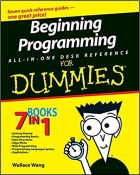 Book Beginning Programming All-In-One Desk Reference For Dummies free