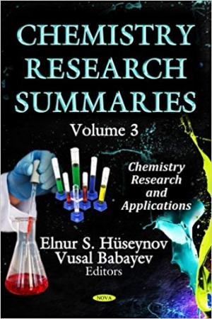 Download Chemistry Research Summaries, Volume 16 free book as pdf format