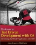 Book Professional Test Driven Development with C# free