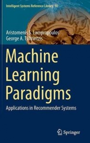 Download Machine Learning Paradigms: Applications in Recommender Systems free book as pdf format