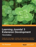 Book Learning Joomla! 3 Extension Development, 3rd Edition free