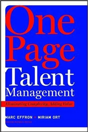 Download One Page Talent Management: Eliminating Complexity, Adding Value free book as epub format