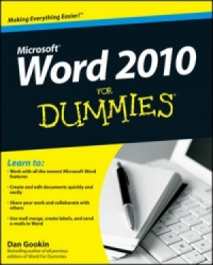 Download Word 2010 For Dummies free book as pdf format