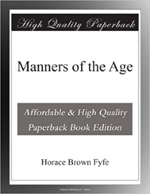Download Manners of the Age free book as epub format