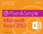 Book Microsoft Excel 2013 Plain & Simple free