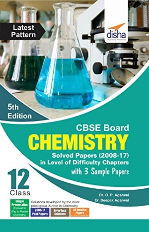 Download CBSE Board Class 12 Chemistry Solved Papers (2008 - 17) in Level of Difficulty Chapters with 3 Sample Papers 5th Edition free book as pdf format