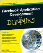 Book Facebook Application Development for Dummies free