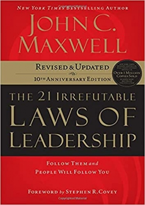 Download The 21 Irrefutable Laws of Leadership: Follow Them and People Will Follow You free book as pdf format