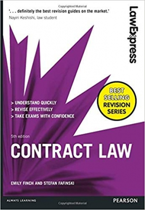 Download Contract Law: Uk Edition (Law Express) free book as pdf format