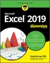 Book Excel 2019 For Dummies free