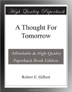 Book A Thought For Tomorrow free