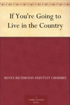 Book If You're Going to Live in the Country free