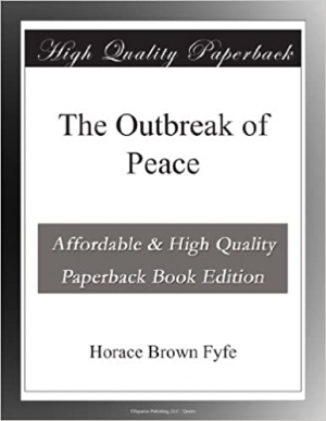 Download The Outbreak of Peace free book as epub format