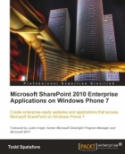 Book Microsoft SharePoint 2010 Enterprise Applications on Windows Phone 7 free