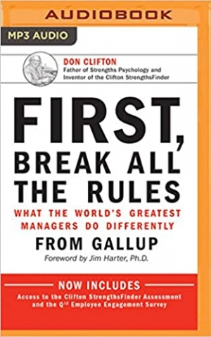 Download First, Break All the Rules: What the World's Greatest Managers Do Differently free book as pdf format