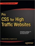 Book Pro CSS for High Traffic Websites (Expert's Voice in Web Design) free
