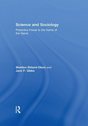 Download Science and Sociology: Predictive Power is the Name of the Game free book as pdf format
