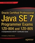 Book Oracle Certified Professional Java SE 7 Programmer Exams 1Z0-804 and 1Z0-805 free
