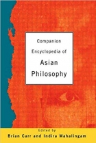 Book Companion Encyclopedia of Asian Philosophy free
