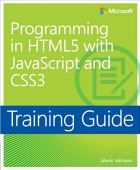 Book Training Guide Programming in HTML5 with JavaScript and CSS3 (MCSD) free
