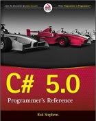 Book C# 5.0 Programmer's Reference free