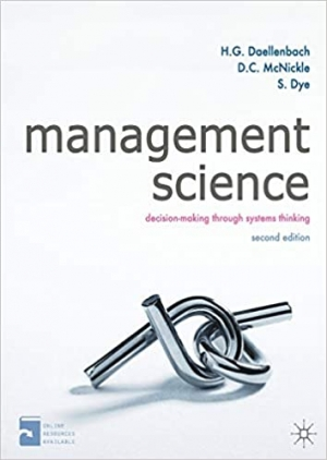Download Management Science: Decision-making through systems thinking free book as pdf format