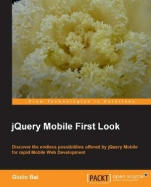 Download jQuery Mobile First Look free book as pdf format