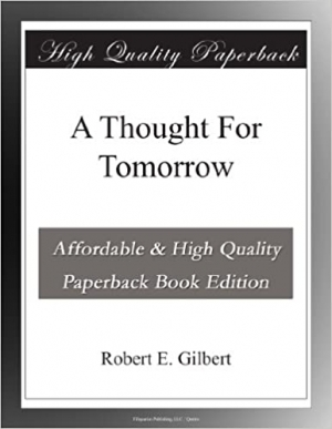 Download A Thought For Tomorrow free book as epub format