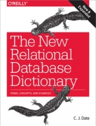 Book The New Relational Database Dictionary free