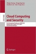 Book Cloud Computing and Security free