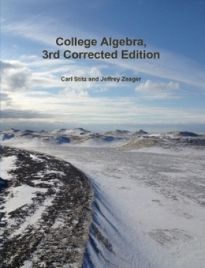 Download College Algebra - Version [π] Corrected Edition free book as pdf format