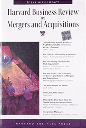 Download Harvard Business Review on Mergers & Acquisitions free book as pdf format