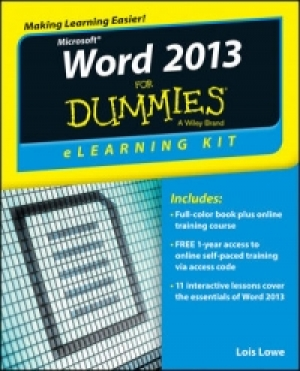 Download Word 2013 eLearning Kit For Dummies free book as pdf format