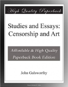 Book Studies and Essays: Censorship and Art free