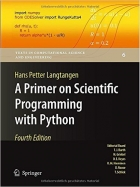 Book A Primer on Scientific Programming with Python, 4th edition free