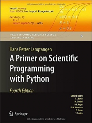 Download A Primer on Scientific Programming with Python, 4th edition free book as pdf format