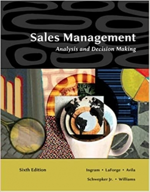 Download Sales Management: Analysis and Decision Making free book as pdf format