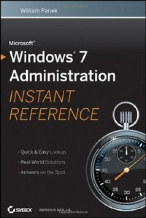 Download Microsoft Windows 7 Administration Instant Reference free book as pdf format