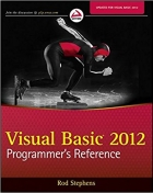 Book Visual Basic 2012 Programmer's Reference free
