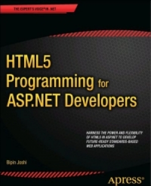 Download HTML5 Programming for ASP.NET Developers free book as pdf format