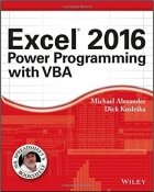 Book Excel 2016 Power Programming with VBA free