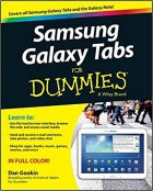 Book Samsung Galaxy Tabs For Dummies free