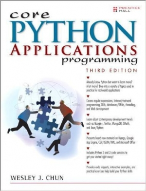 Download Core Python Applications Programming, 3rd Edition free book as pdf format