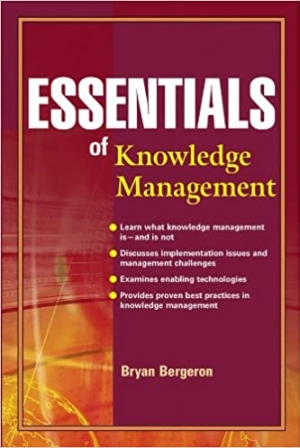 Download Essentials of Knowledge Management free book as pdf format