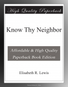 Book Know Thy Neighbor free