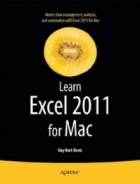 Book Learn Excel 2011 for Mac free